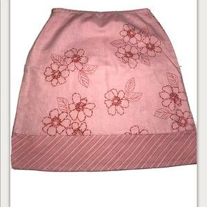 Eddie Bauer Women's Pink Skirt Size 4P NWOT